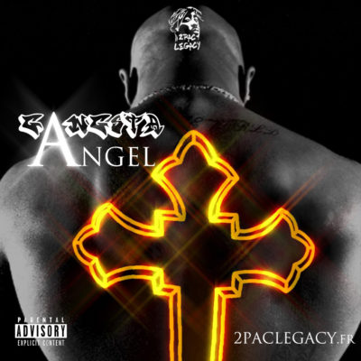 2PAC LEGACY GANGSTA ANGEL MIXTAPE Cover (face)