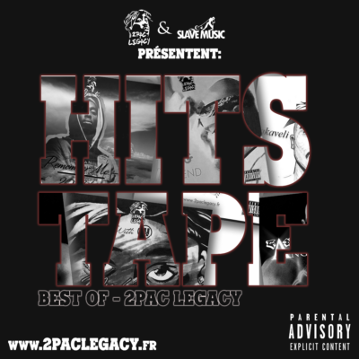 Cover (face) 2Pac Legacy - Hits Tape